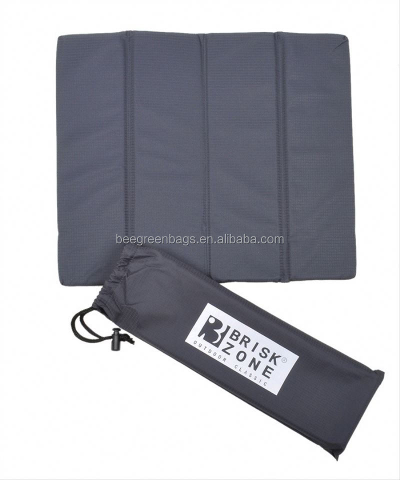 BeeGreen Promo 210T Polyester fold up seat cushion With A Pouch
