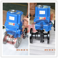 2inch anti-explosion flange ball valve pvc china manufacturer