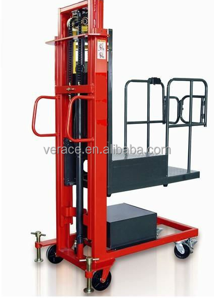 VR-SP Hight Quality 3.5 m Semi Electric Order Picker For Sale