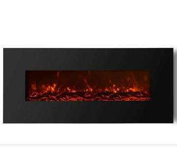 "50"" LED Wall Mounted Electronic Fireplace"