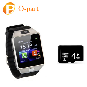 The Most Popular And Cheapest Smart Wrist Wholesale Mobile Watch Phone DZ09