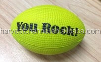oval bouncing pu rugby ball for fun kid playing ball