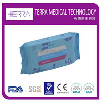 Pass International Standard Dermatologically Test tailored bathroom Flushabld Hygiene Moist Toilet Paper/Wet Wipes/Tissue