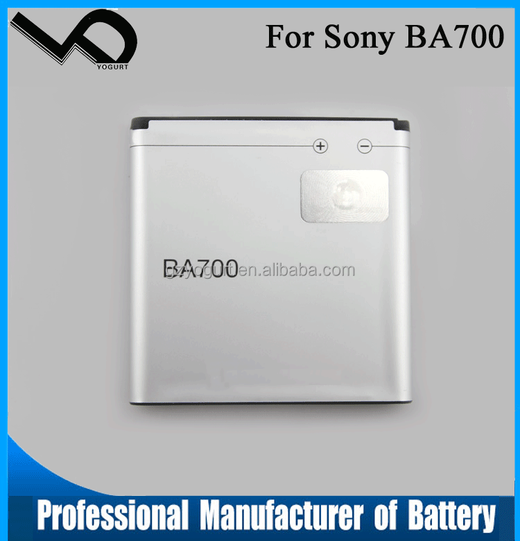 3.7V 1500mAh BA700 replacement mobile phone battery for Sony Ericsson MT11i MK16i ST18i MT15i