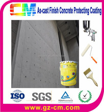 Building paint- waterproof nano external cement protection as-cast finish concrete wall coats
