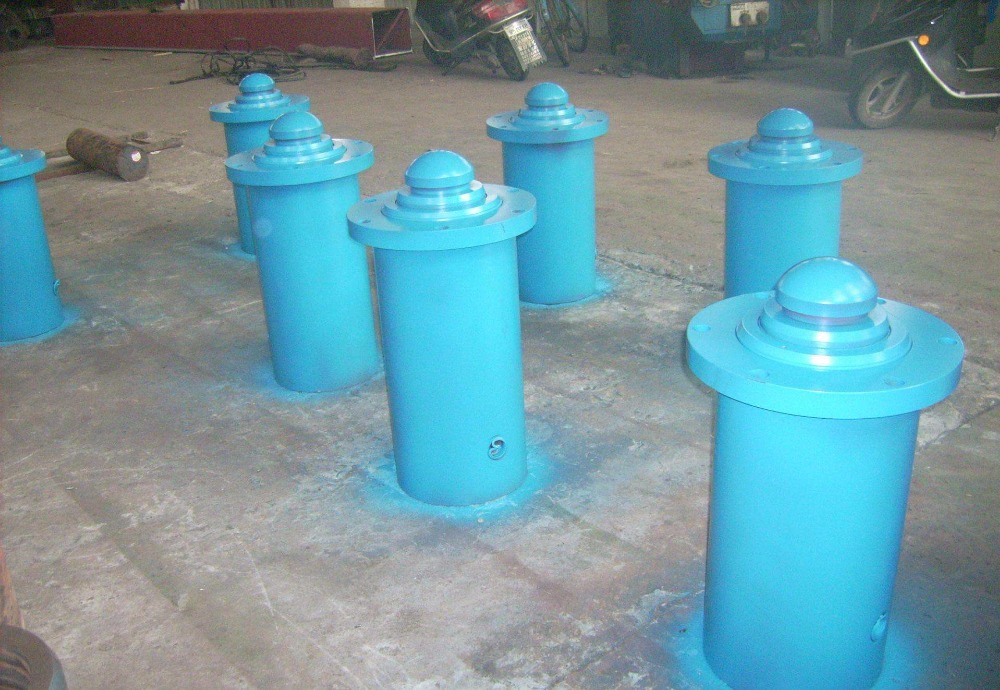 cheap small single acting hollow hydraulic jacks ram cylinders