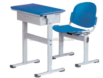 Modern School Single student table chair set XG-209