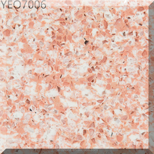 Easy Maintain Fossil Pink Quartz Stone Countertops