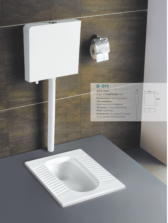 HOT SALE High Quality Sanitary Ware Wall Mounted Water Saving Flush plastic Toilet water Tank