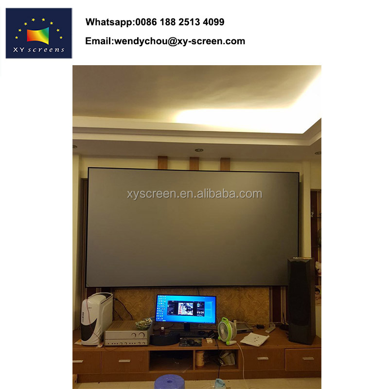 1080P/HG Home made projector screens,digital advertising screens for sale