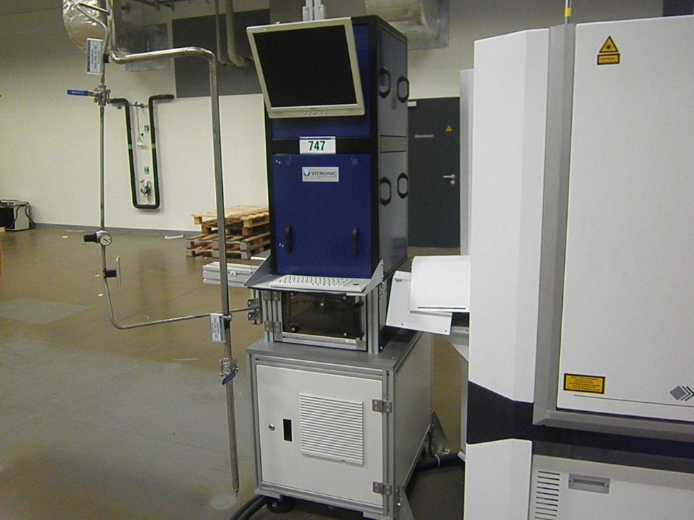 Solar Cell Manufacturing Equipment Vitronic Optical Wafer Inspection System
