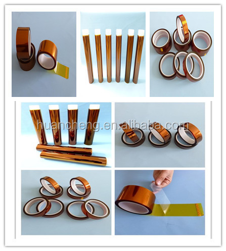 Self-adhesive Kapton Tape with silicone adhesive
