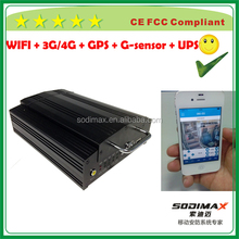 High definition 3g gps sdi capture card mobile DVR kits with I/O Extension Cable H.264