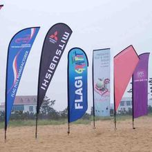 Recycled teardrop beach flags and banners hot on sale