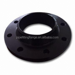 Butt welded forged ANSI RF carbon steel flange