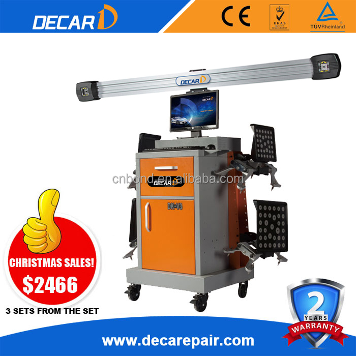 high quality used wheel alignment machine DK-V3 for sale