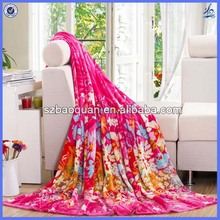 New trendy soft 100% polyester flannel blanket wholesale mexican blankets for sale