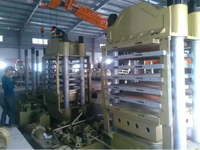 Hydraulic hot press machine for making plywood/ block board / bamboo plywood