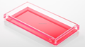 acrylic neon/fluorescence tray and box with personalized design