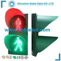 Easy Instal 300mm Led Pedestrian Signal lamp for roadway safety