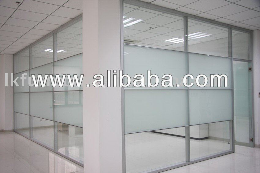 Glazed partition system