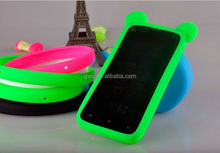 Silicone frame Case, universal silicone phone case for Cell Phone iPhone 5 5S 5C 4S 4
