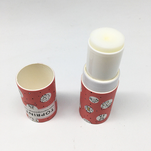 Japanese solid perfume paper twist up tubes / deodorant stick container twist up