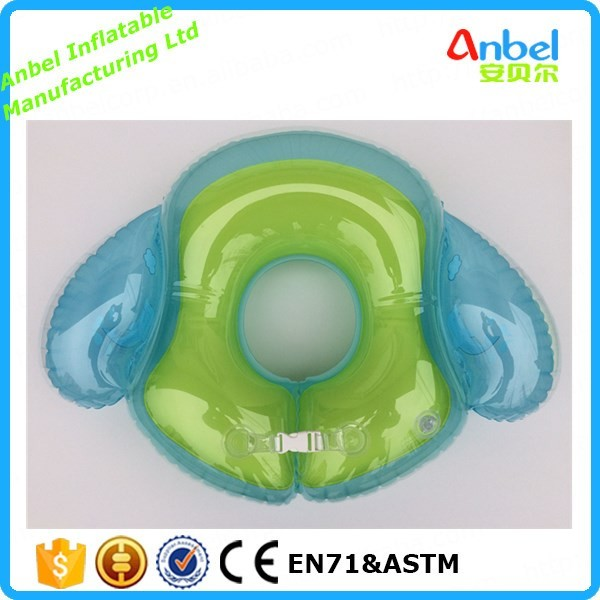 Anbel New Inflatable Child Armpit Float Baby Swimming Ring Swim Safety Tube with angel wings