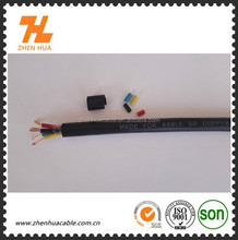 Hot sell flexible cabling,PVC insulated H05VV-F 1.5 2.5 4 6mm2 copper conductor