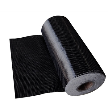 12k 200g Unidirectional Carbon Fiber Fabric Bridge or building construction orepair Factory Outlet UD