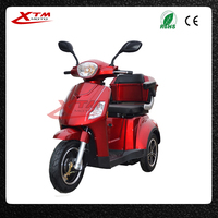 3 wheel scooter electric tricycle pedal assisted for handicapped/disabled