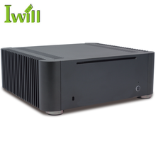 Iwill computer chassis MPC-T8 aluminum fanless mini itx pc case