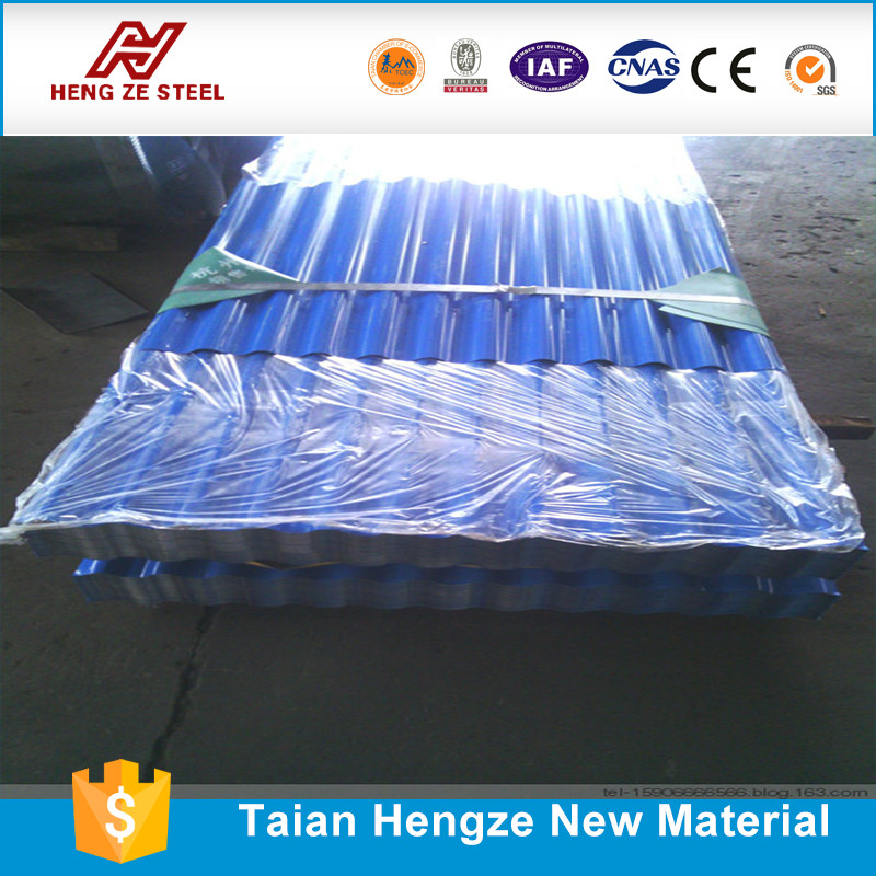 Corrugated Metal Wall Panel/Galvanized Iron Corruagted Roof Sheet AC 900MM