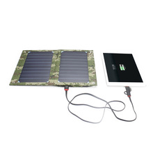 SUNEVER Portable 10W Solar Outdoor Mobile Phone Power Bank Charger
