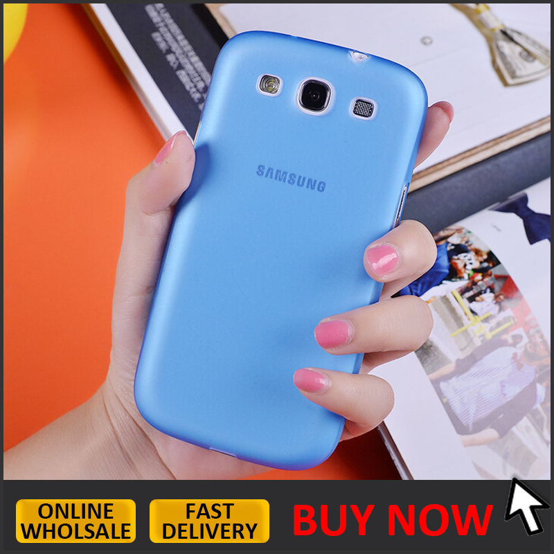 IN STOCK // 0.33mm ultra thin matte transparent case for samsung galaxy s3 i9300