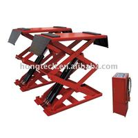3 ton super thin scissor hoist/ flush mount car lift