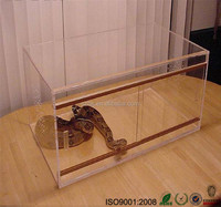 Home & garden plastic pet acrylic reptile display cage / tank