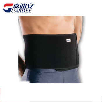 Adjustable Soft elastic black waist support popular thermal waist lossing weight belt