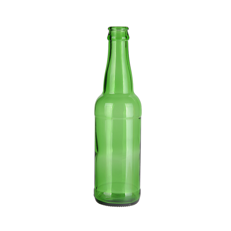 According to customer drawing beer glass bottle 330 ml