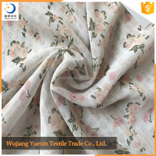 High Quality New Products Printed Silk Chiffon Dress Fabric
