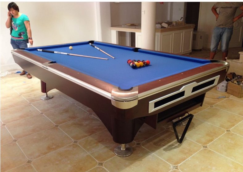 Solid Wood Pool Table/Slate Billiard Pool Table-3