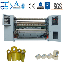 XW-210-8 high speed and low noise BOPP Tape slitting machine