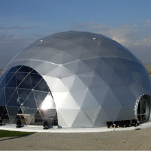 Strong Structure Steel Half Sphere Large Exhibition Geodesic Dome Tent Outdoor For Events