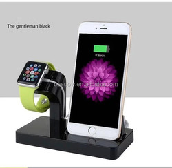 BS-001 2 in 1 Multi New Arrival Popular Portable Charger Holder For Apple Watch And Iphone Charging dock