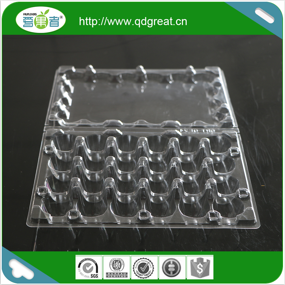 2017 the most popular Plastic Clear quail egg tray, egg container, egg box
