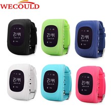 Wecould SOS Function Remote GPS Tracking Hand-free Digital Kids Smart watch with Real-time GPS Monitoring