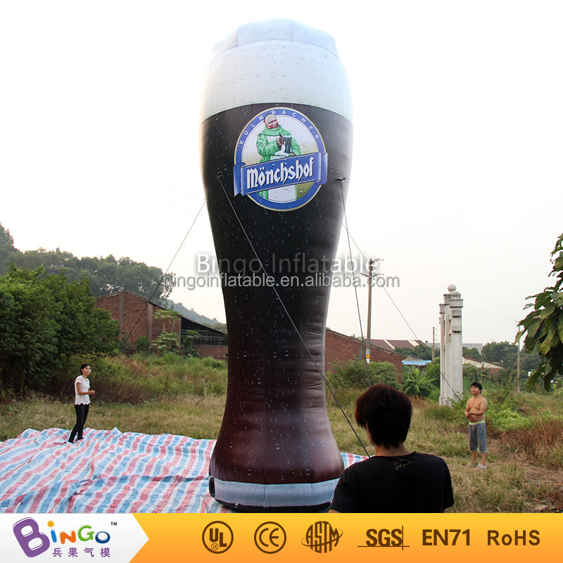 Oktoberfest PVC inflatable bottle giant inflatable beer wine bottle for wholesale