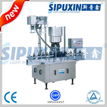High speed full automatic bottle aluminum cap screw capping and sealing machine