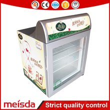 55L Low Power Consumption Small Table Top Mini Upright Freezer With Lampbox SD55 From China