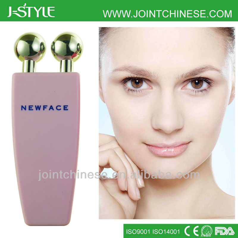 travel and home use Nu face ball treatment skin firming face slimming ion cleanse device